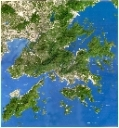 HongKong relief map