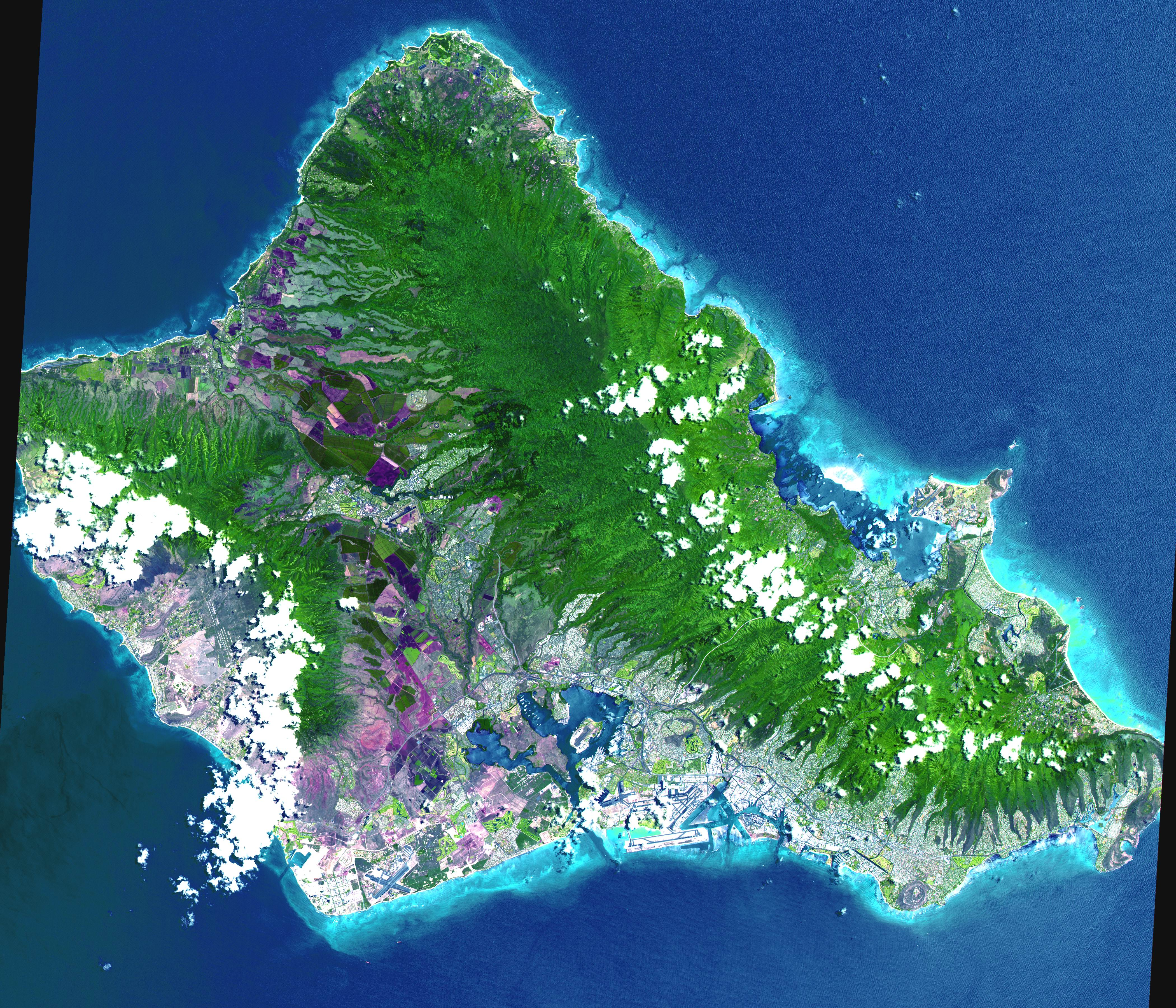 Oahu_Hawaii map