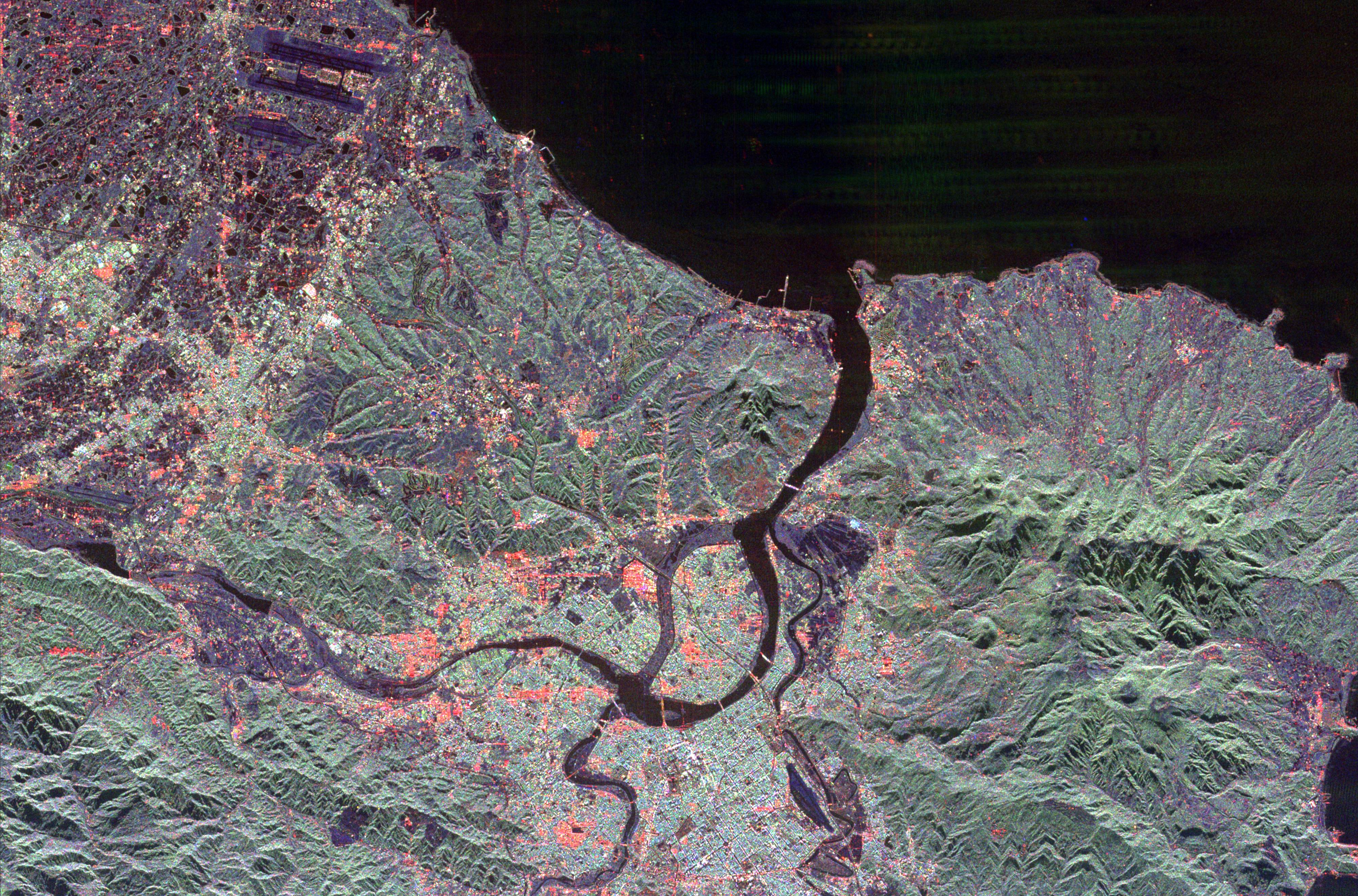 Space Radar Image of Taipei, Taiwan.tif
