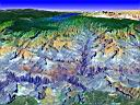 3D View of Grand Ganyon, Arizona .tif
