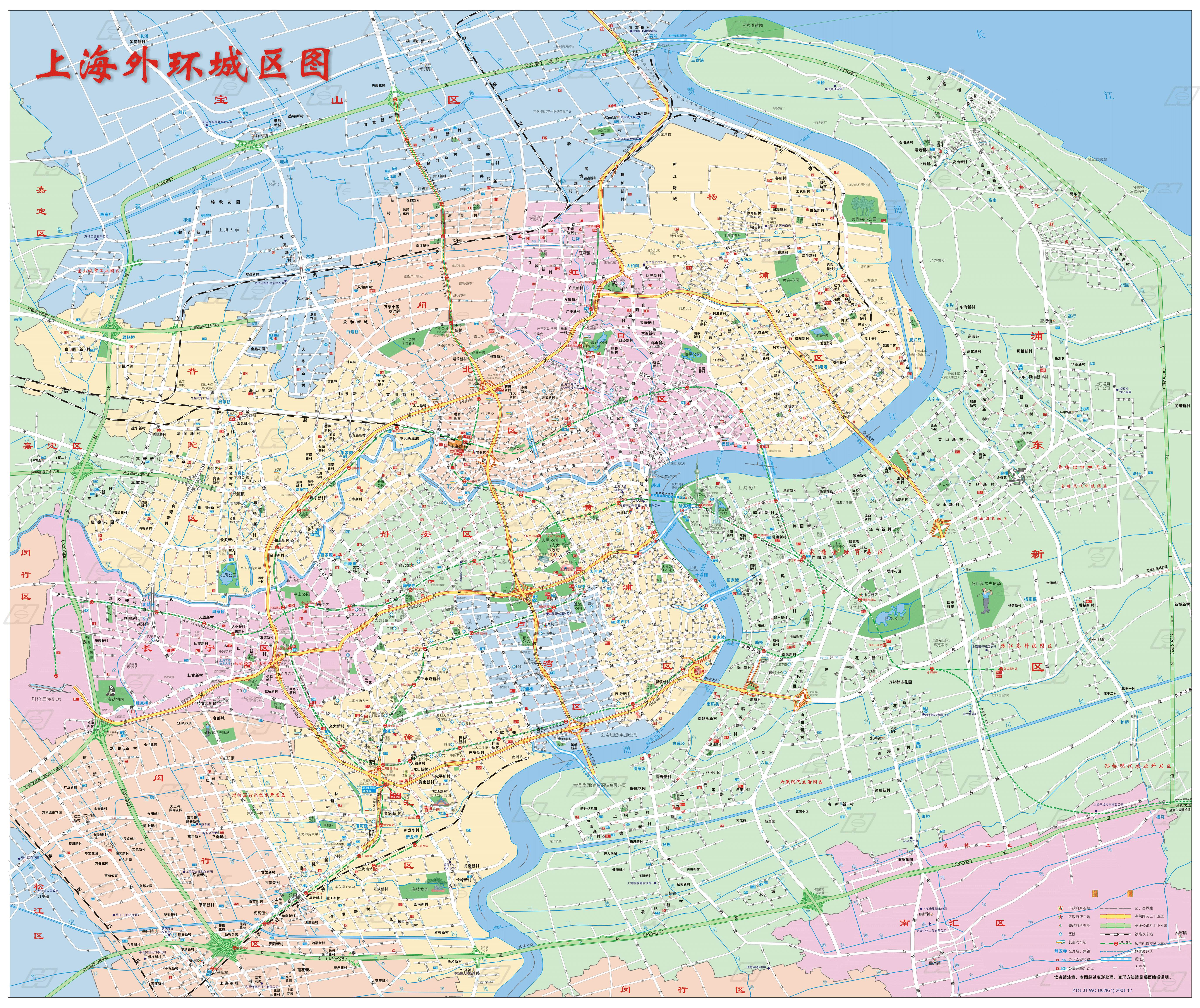 shanghai_city_map province map