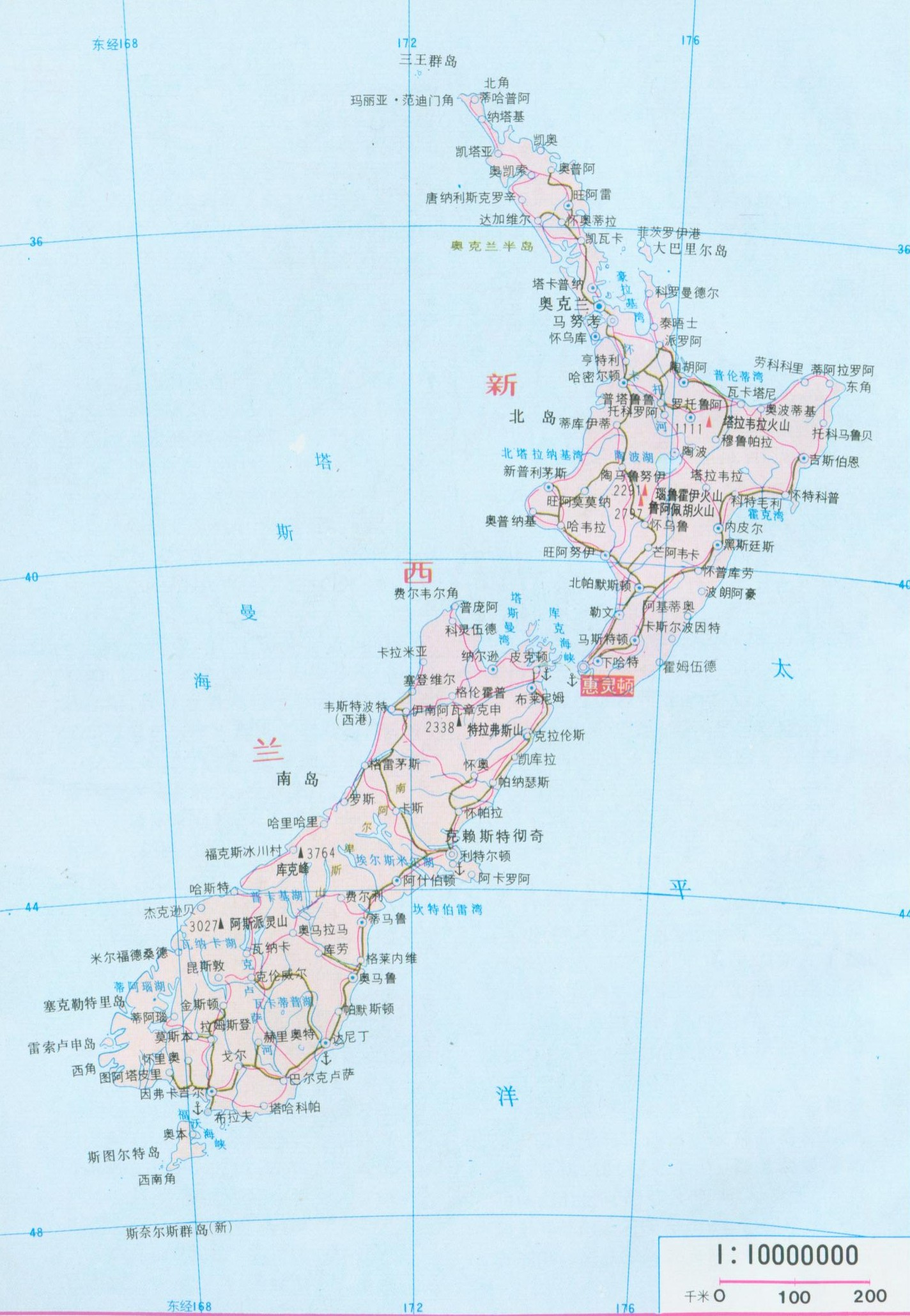 New Zealand Map World Browse Info On New Zealand Map World