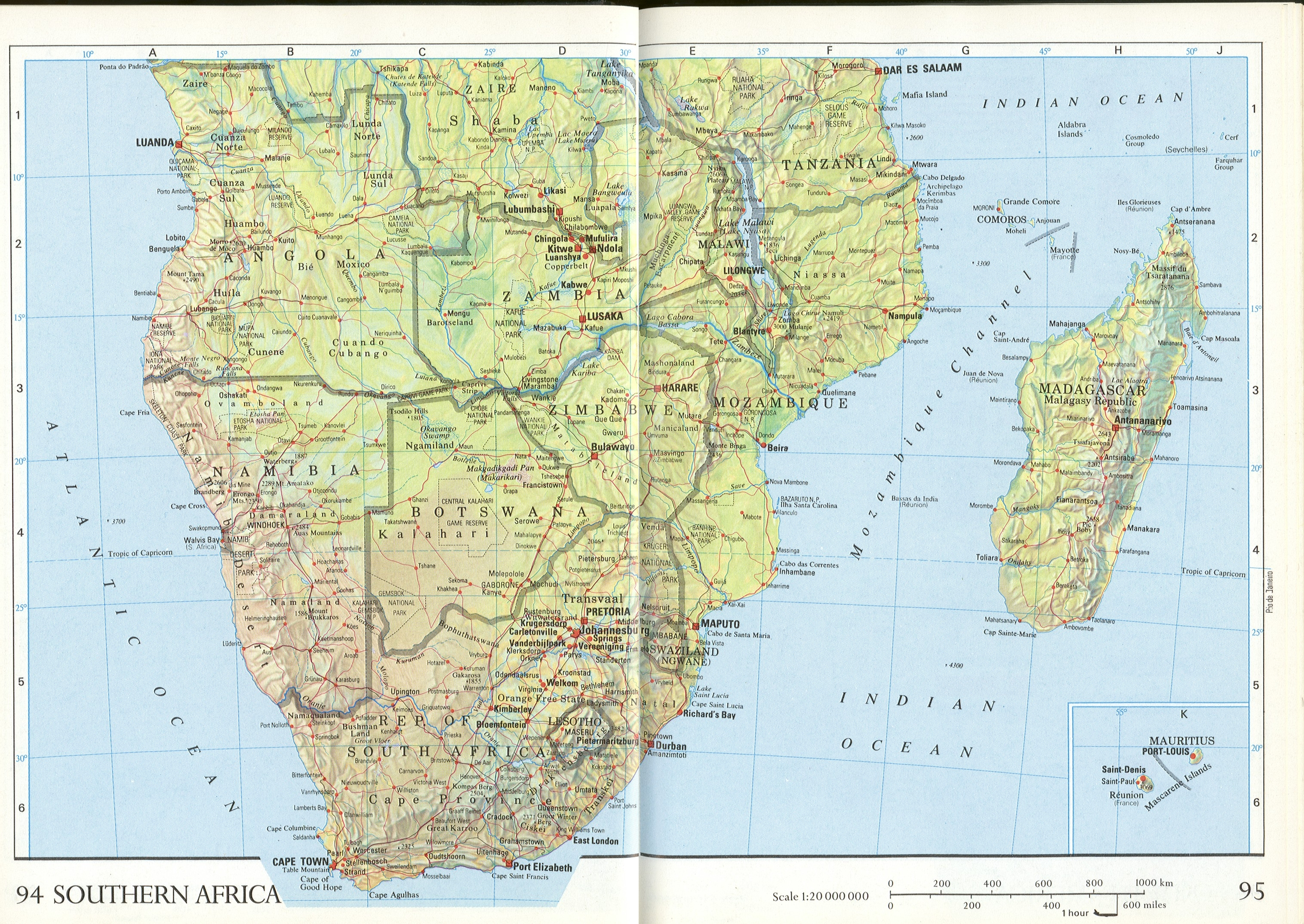africa map packet images