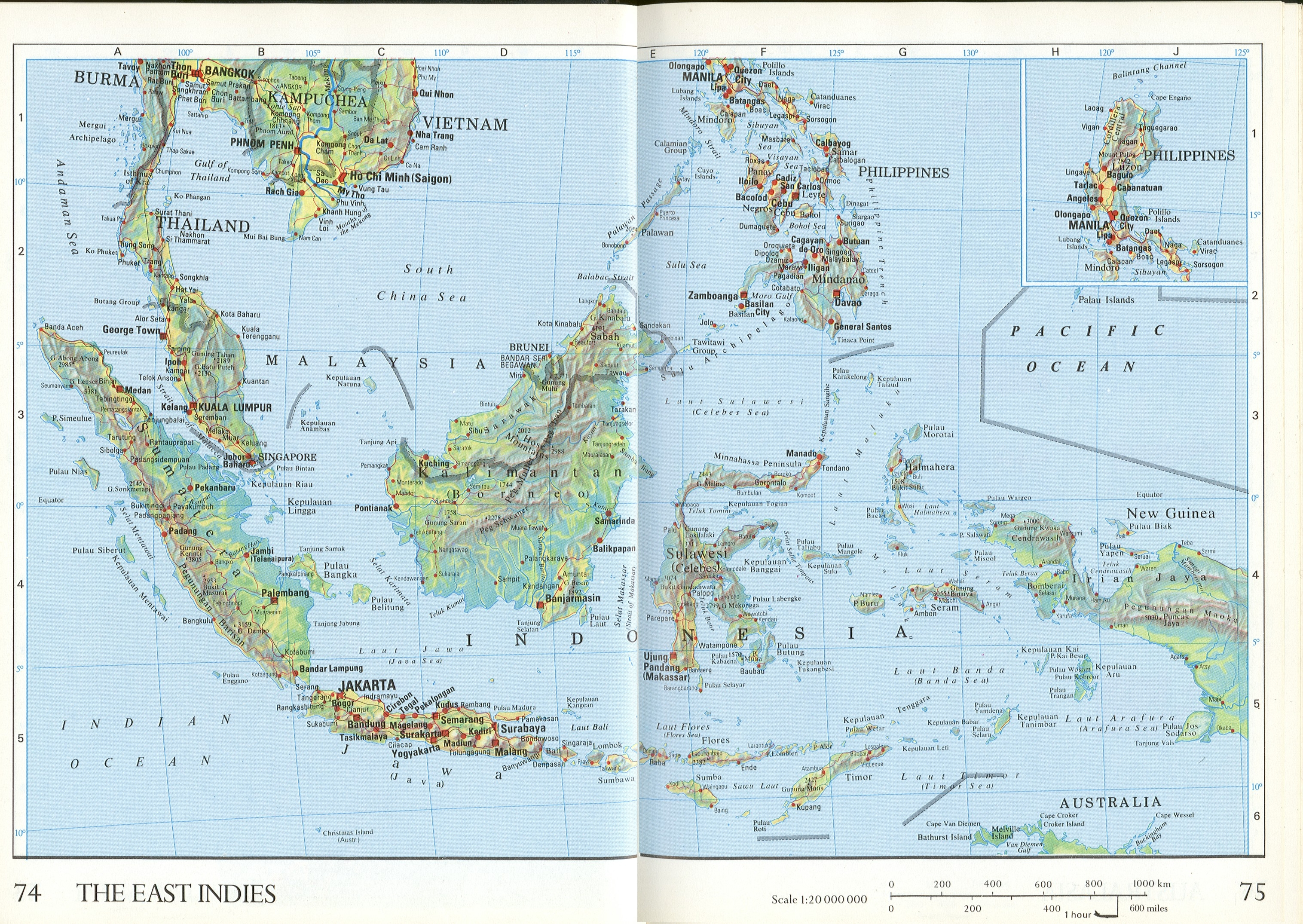 The East Indies Map